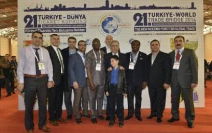 7 kıta İzmir'de Buluştu