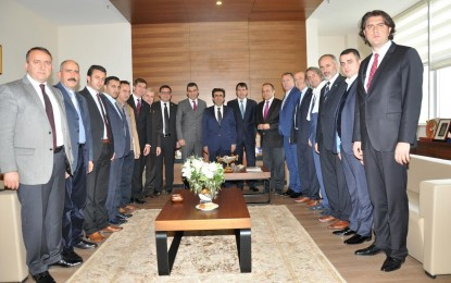 Vali Güzeloğlu'ndan KOTO'ya iadeyi ziyaret