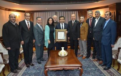 Marmara Ve Kocaeli Mardinliler Derneği ile Midyatlılar Dernek Yöneticilerinden Vali'ye Ziyaret