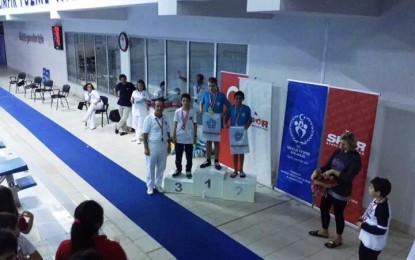 Süleymanpaşa Belediyesi yüzme takımından 4'ü altın 16 madalya