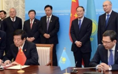 Kazakistan ve Çin arasında 14 milyar dolarlık imza
