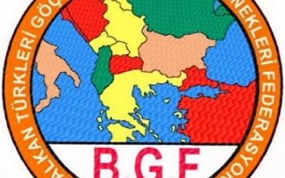 Bulgaristan'da Yaşanan Soykırımın 30 yılı  B.G.F.'dan Basın Açıklaması