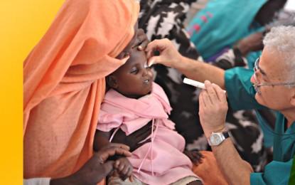 Kimse Yok Mu Gönüllüleri, Afrika ve Asya'da Katarakt Hastalarına Işık Olacak