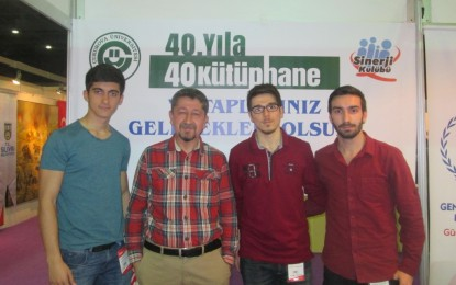 Rıdvan Şükür, Sinerji Kulübünü Ziyaret Etti.