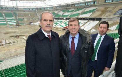 Tanju Çolak, Yeni Stada Hayran Kaldı