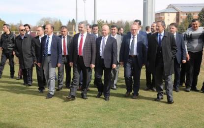 Kayserispor'a Moral  Ziyareti