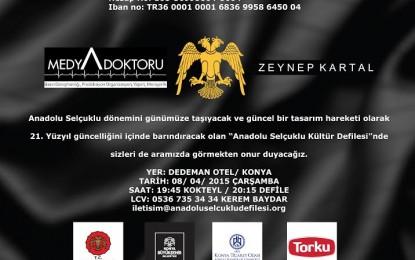 Konya Anadolu Selçuklu  Defilesi
