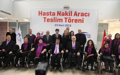 Kimse Yok Mu'dan Kas Hastalarına Özel Araç