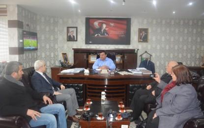 AFGAD, Başkan Kocatepe'yi Makamında Ziyaret Etti