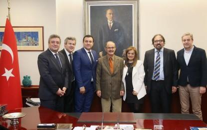 Zonguldak Ticaret Odaları  Büyükerşen'i Ziyaret Etti