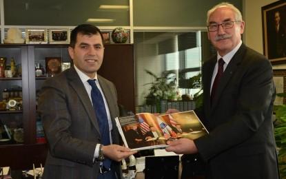 Polonya  Büyükelçisi'den  Büyükşehir'e  Ziyaret…