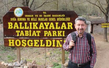 Rıdvan Şükür, Ballıkayalar'da Yürüdü, Baharı Fotoğrafladı.