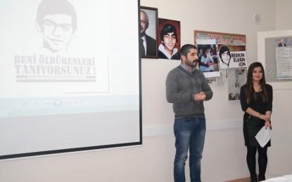 CHP Başiskele Gençlik Kolları, Gezi Parkı Olaylarında Hayatını Kaybeden Berkin Elvan'ın Ölüm Yıl Dönümü Nedeniyle Anma Programı Düzenlendi.