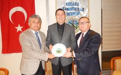 Chp Milletvekili Aday Adayı Prof. Dr. Cüneyt Özkürkçügil, Kocaeli Kandıralılar Derneğinde..