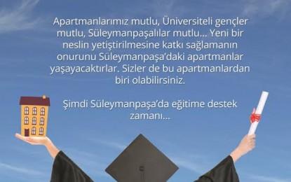 Süleymanpaşalı Üniversite Öğrencilerine Burs Desteği