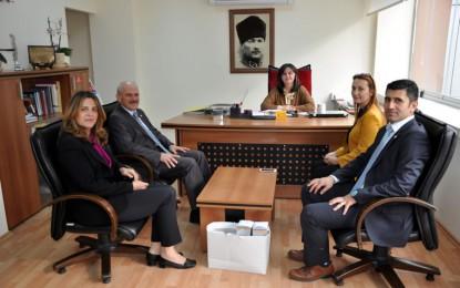 Kızılay Yönetiminden Başkan Yrd. Danışman'a Ziyaret
