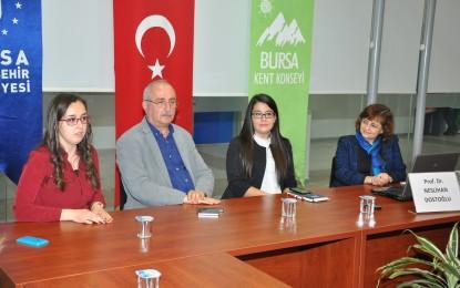 Bursa´nın Unesco Süreci Kent Konseyi Gençlerine Anlatıldı