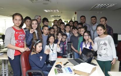 Çocuk Meclisi Üyeleri Gazi Üniversite'nde