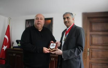 Sunil Chopra'nın Amasra  Ziyareti