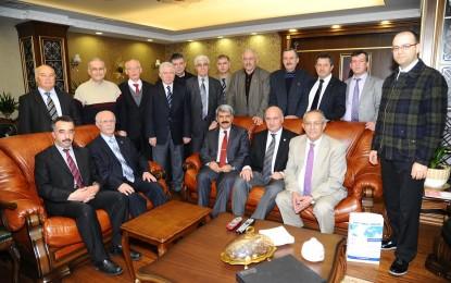 Aydınlar Ocağı,Rektör Sadettin Hülagü'yü Ziyaret Etti