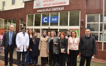 Bayan Güzeloğlu'ndan Kanser Hastalarına Moral Ziyareti