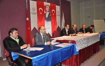 Karabük Belediye Meclisi  Nisan Ayı Toplantısı Yapıldı
