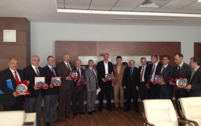 Trabzonlu Başkanlar Gaza Bastı
