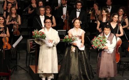 Türk Kore Dostluk Konserinde Dünya Prömiyeri Gerçekleştirildi