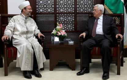 Diyanet İşleri Başkanı Görmez, Filistin Devlet Başkanı Abbas ile Görüştü
