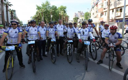 Denizli Bisiklet Festivali Başladı