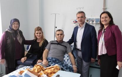 Köşker'den Hastalara Moral Ziyareti