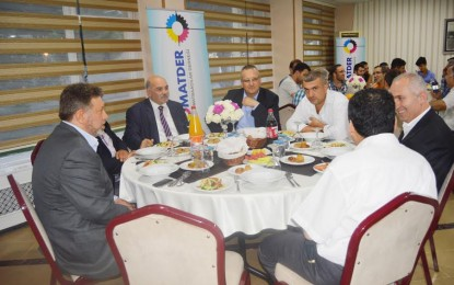 Başkan Şen KOMATDER İftarında Müjdeyi verdi