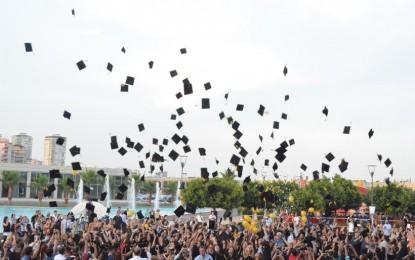 Toros Üniversitesi 2014-2015 İlk Mezunlarını Verdi