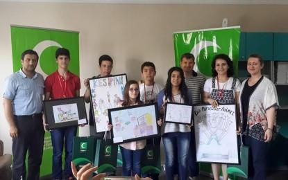 Yeşilaycı Gençler Ödüllerini Aldı
