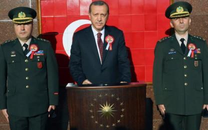 Cumhurbaşkanı Erdoğan, Muhafız Alayı Sancak Devir Teslim Törenine Katıldı