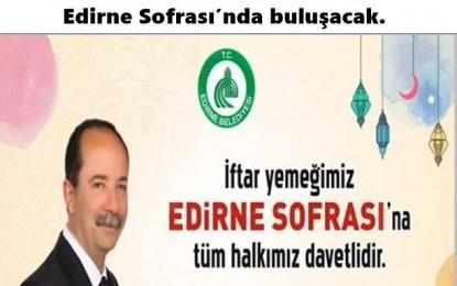 KADİR GECESİ Edirne Sofrası'na Davetlisiniz !