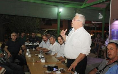 Y.Doç.Dr. İsmail Selimoğlu ,seçim startını hemşehrileri ile verdi