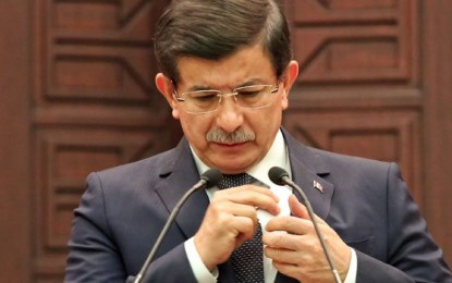 Başbakan Davutoğlu 3 Gün Ulusal Yas İlan Etme Kararı Aldık.