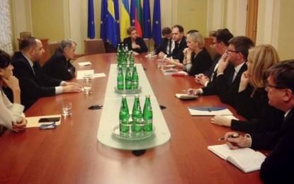 İsveç ve Litvanya ile önemli görüşme!
