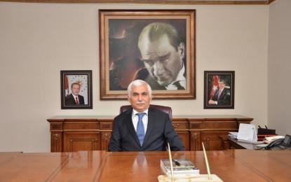 Vali Orhan Alimoğlu'nun 10 Kasım Mesajı