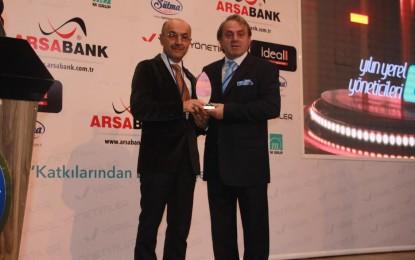 Yılın Yerel Yöneticisi Amasra Belediye Başkanı Seçildi