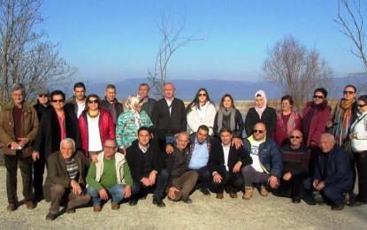 Mübadeleyle Tekirdağ'a yerleşenler atalarının topraklarını ziyaret etti
