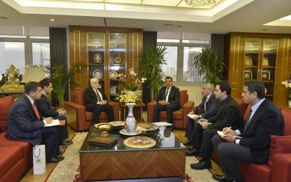 Bülent Tüfenkci Gürcistan Büyükelçisi Iraklı Koplatadze'yi  kabul etti