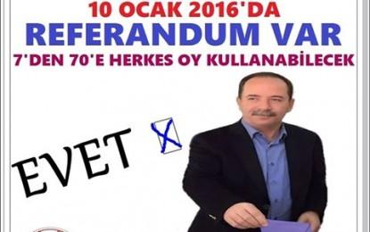 Halk'a Soruldu '!' Edirne'de Referandum !