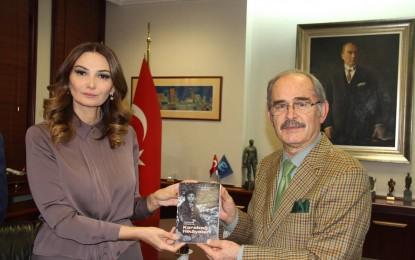 Azerbaycan milletvekili Paşayeva'dan Büyükerşen'e ziyaret
