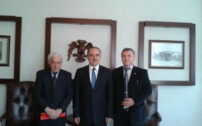 Fevzi Yurtoğlu Konya Valisi'ni ve Huzur Evi'ni Ziyaret etti