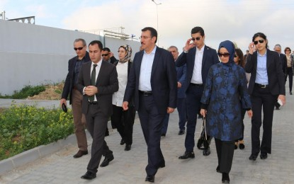 """Bakan Tüfenkci: """"Malatya ile Kıbrıs gönül köprüleri 1950 öncesine dayanır."""""""