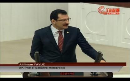 Sakarya Millet Vekili Yavuz;Bölge İdare Mahkemesi Kesinlikle Kapanmayacak
