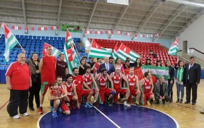 Abhazya basketbol takımı Kocaeli'de hazırlık maçları yaptı