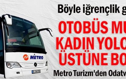 Metro Turizm'in Yetkilileri açıklama yaptı